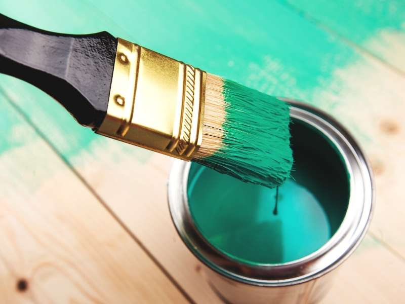 Paint the floors