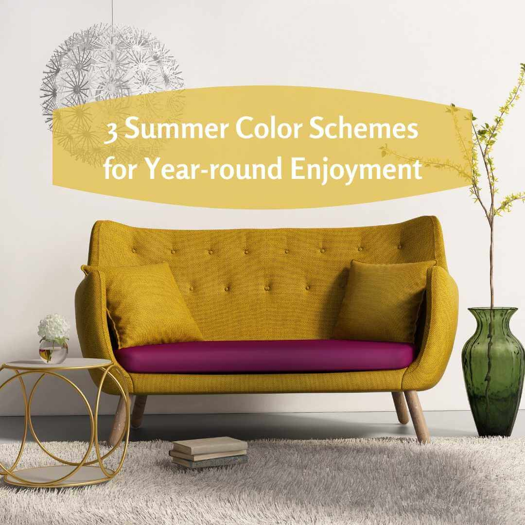 3 Summer Color Schemes