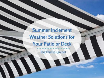 Weather Solutions for Your Patio or Deck