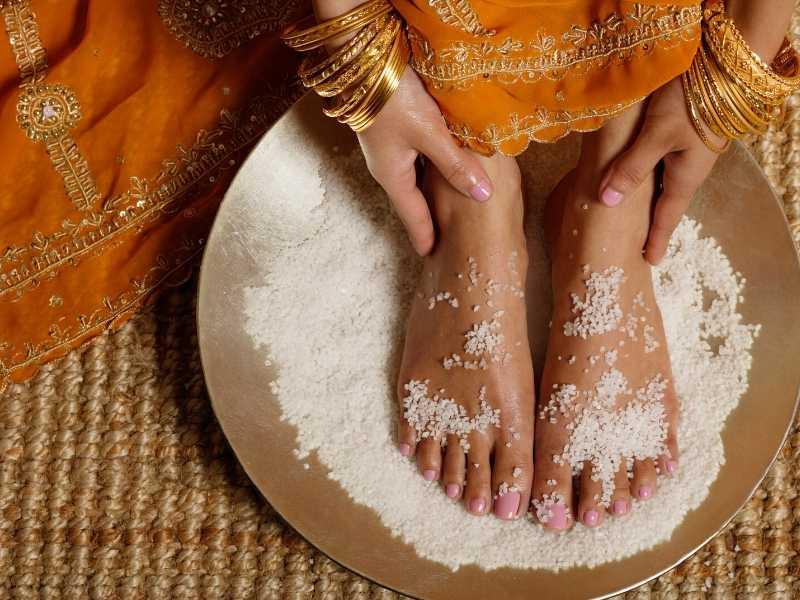 Exfoliate feet