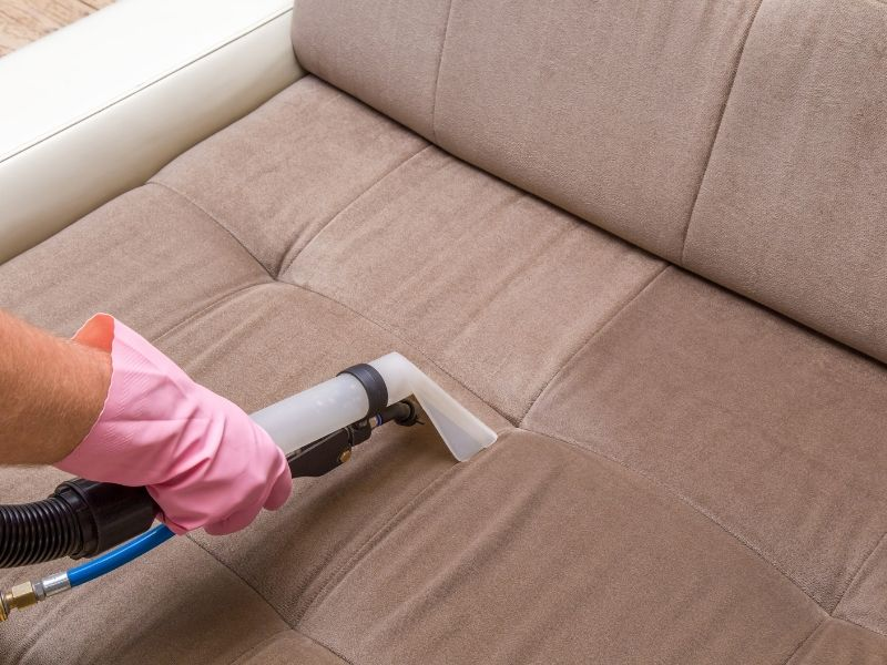 Clean the Upholstery