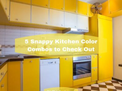 5 Snappy Kitchen Color Combos to Check Out