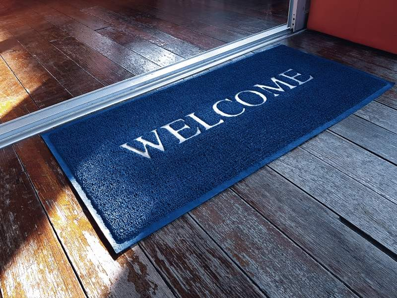 Rubber Backed Welcome Mat