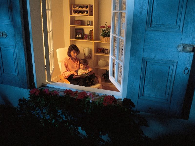 Open the windows to keep your house cool at night.