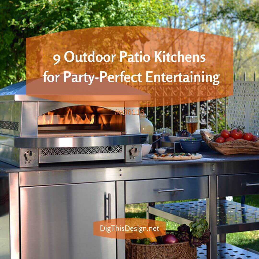 9 Outdoor Patio Kitchens for Party-Perfect Entertaining