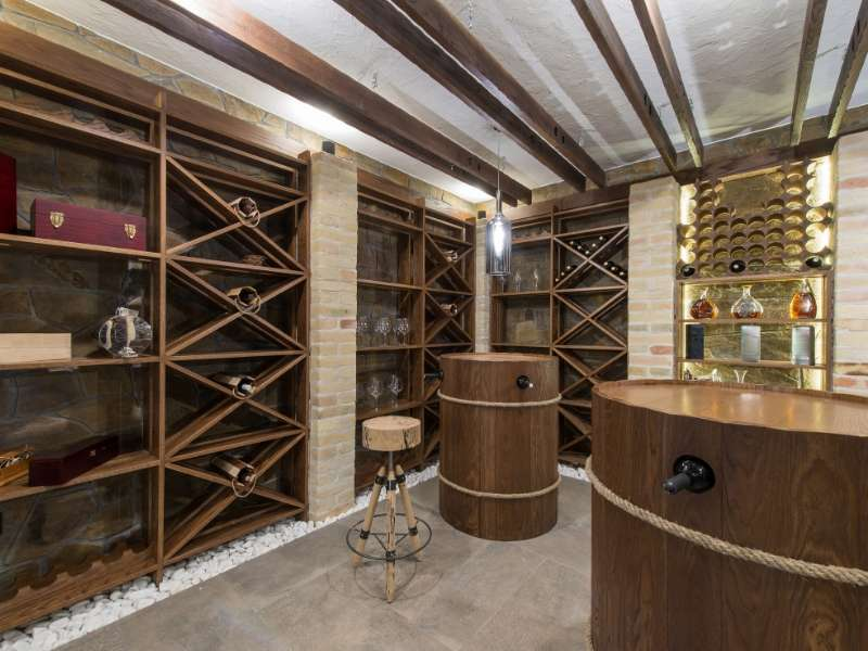 Add a Wine cellar