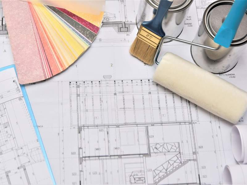 Plan for a home renovation