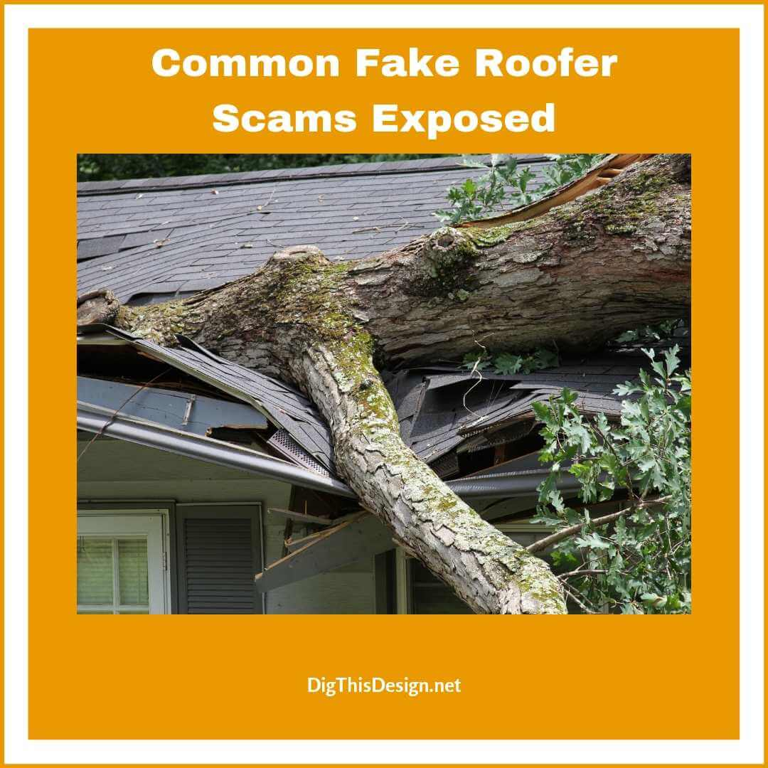 Common Fake Roofer Scams