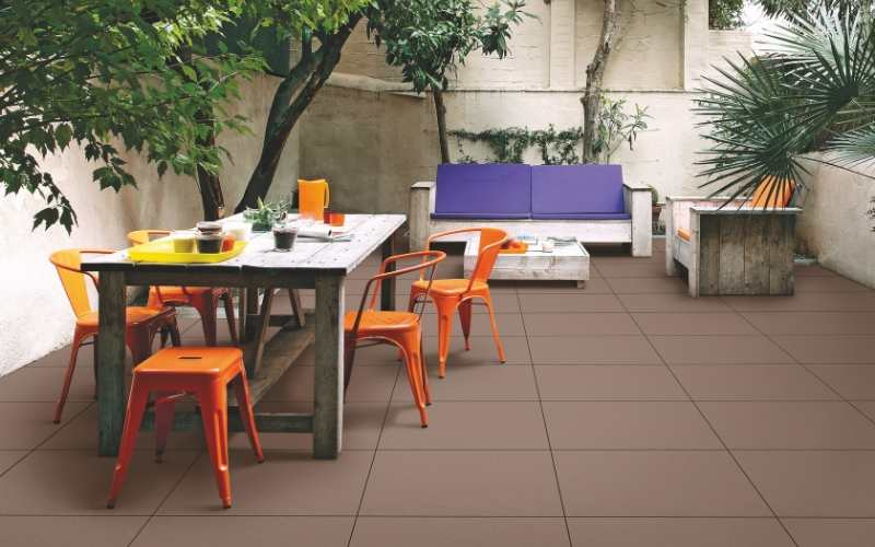 Patio Earth Colors for Your Home Design