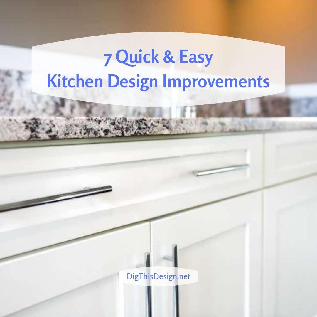 Easy Kitchen Design Improvements