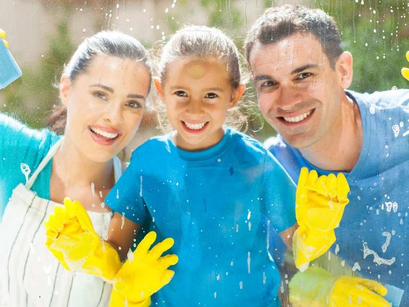 Cleaning Windows How to Get Your Home Ready for Summer Guests