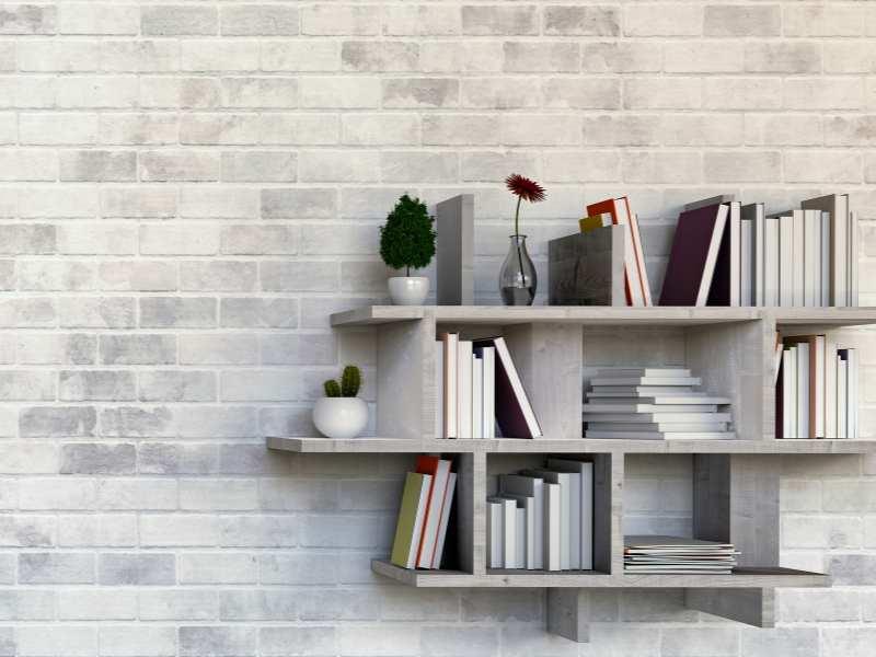 Bookshelves Reading Nook Design
