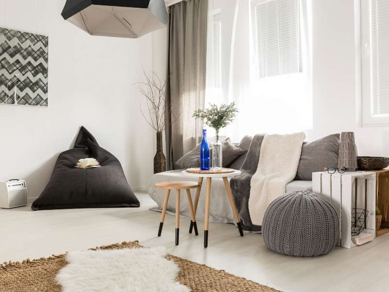 Bean Bag Chair Reading Nook Design