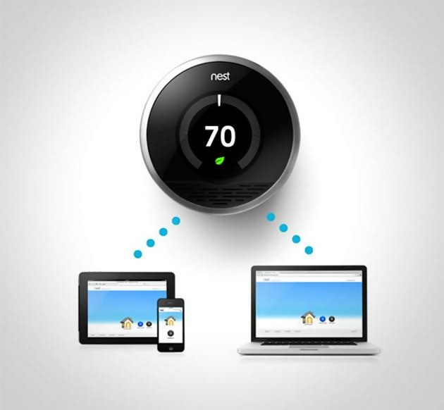 Google Nest Learning Thermometer Smart Home Gadgets