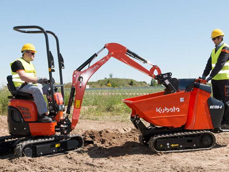 Tracked Dumper at Your Construction Sites
