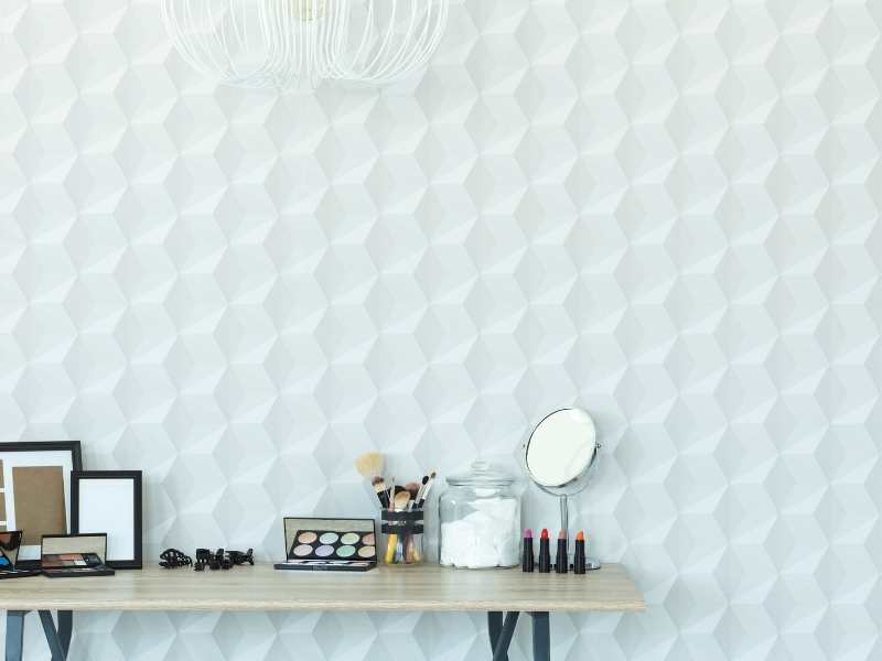 Geometric 3D Wallpaper Designs