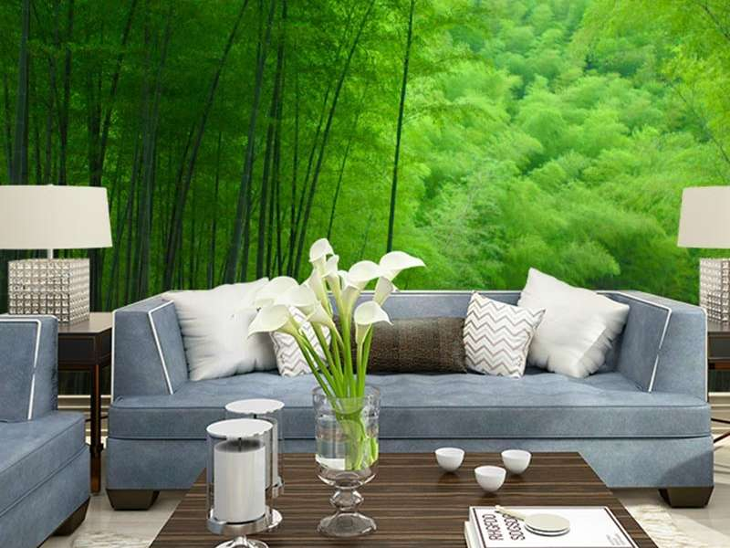 Green Wall Mural Wallpaper Designs for 2019