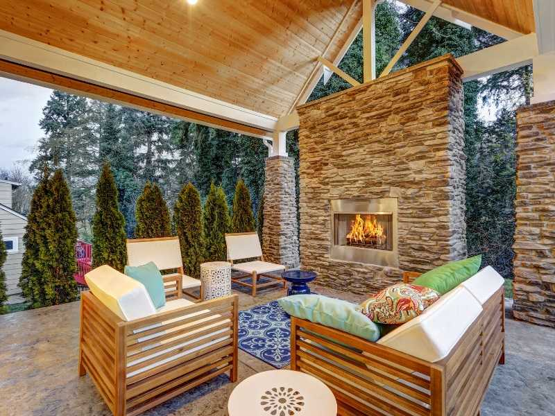 Covered Wooden Patio Furniture Care