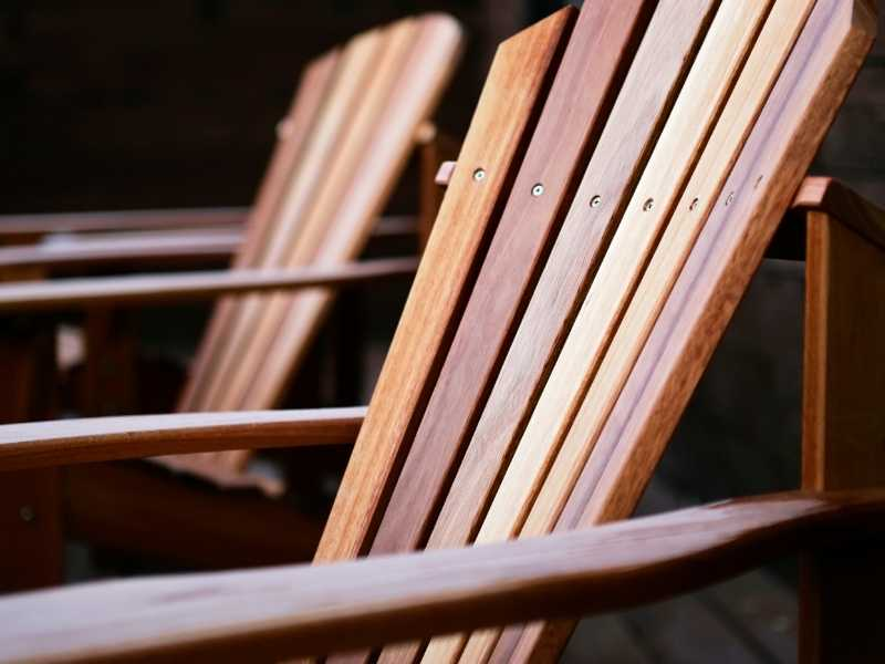 Types of Wooden Patio Furniture Care
