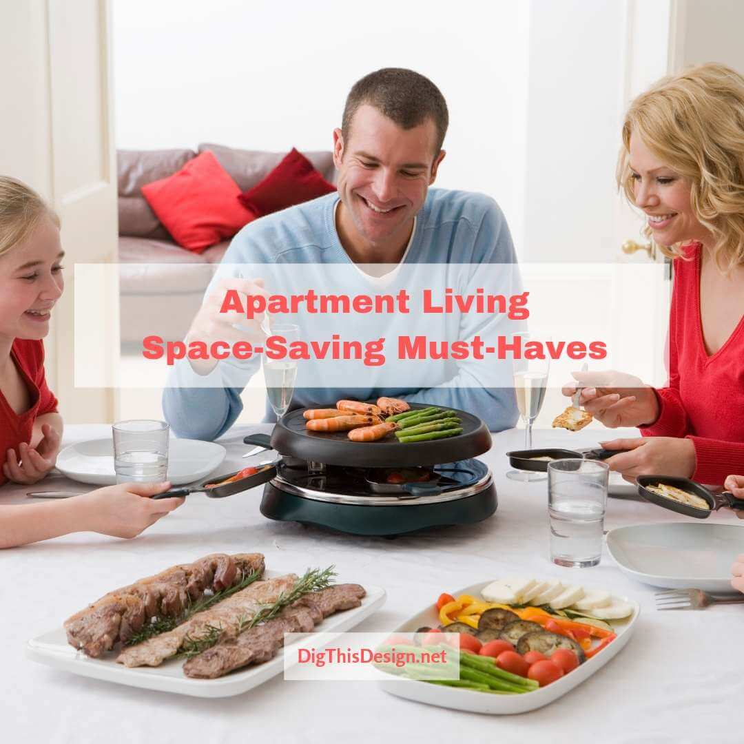 Apartment Living Space-Saving Must-Haves