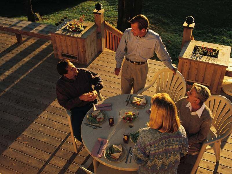 Attached Deck Styles
