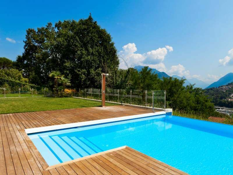 Wooden Pool Deck Styles