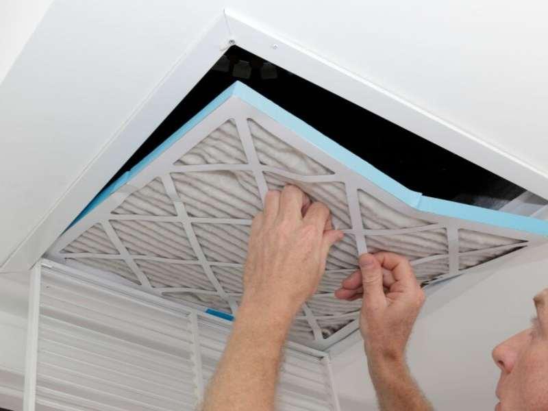 Change the Fillter for HVAC Repair