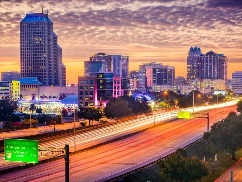 Living in Orlando involves commuting