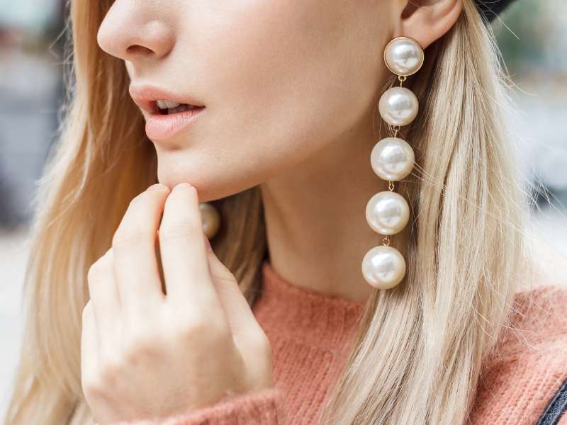 Pearl Errings Perfect Jewelry Accessories