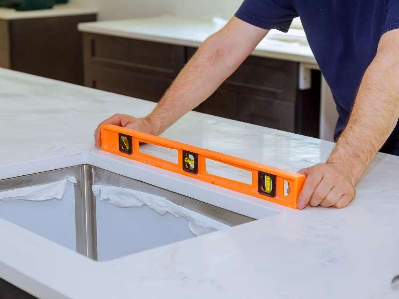 Professional Installation Selecting New Countertops