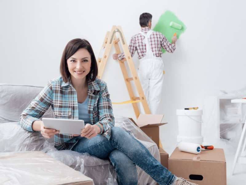 Painting Sells Your Home Faster