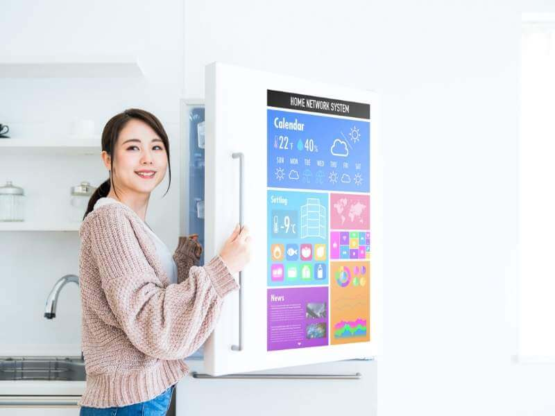 Smart Home Appliances Digital Refrigerator