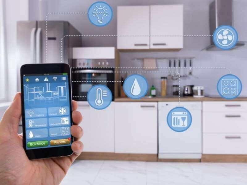 Kitchen Appliances Smart Technology