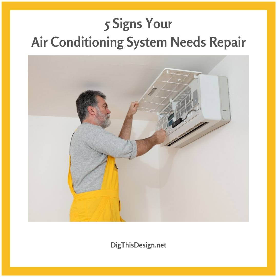 5 Signs Your Air Conditioning System Needs Repair