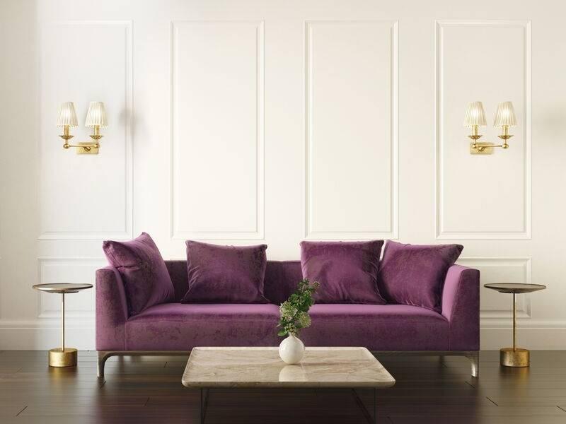 Velvet Sofa for a Cozy Living Space