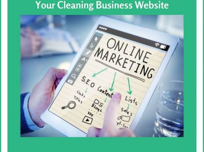 How to Powerfully Promote Your Cleaning Business Website