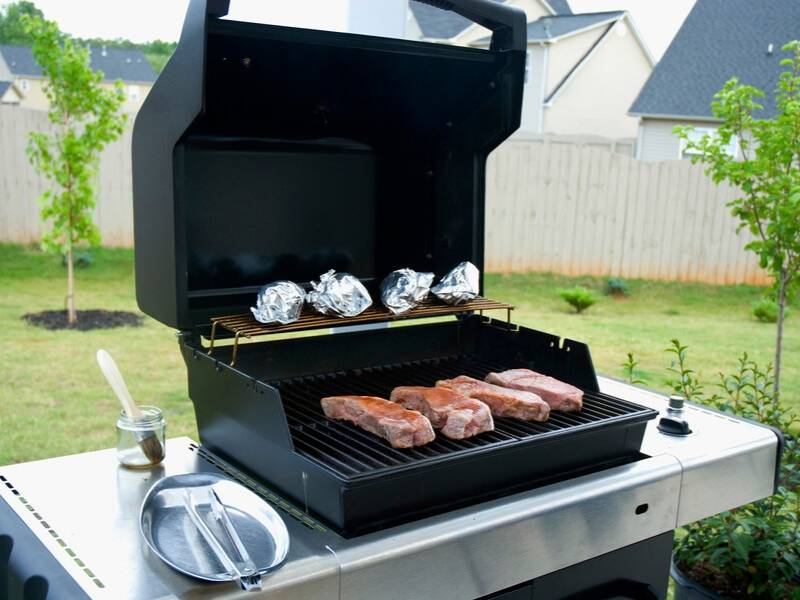 Hurricane Season Grilling Instead of Stove
