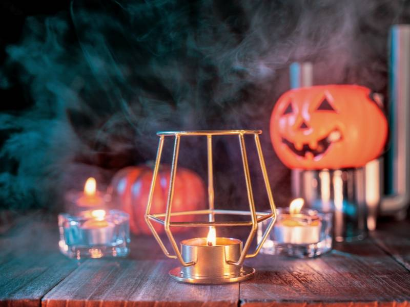 Light the way for your spooky guests