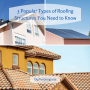 Popular Roofing types