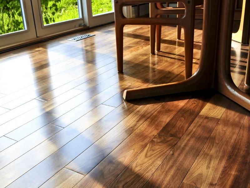 Restaurant Beautiful Hardwood Floors