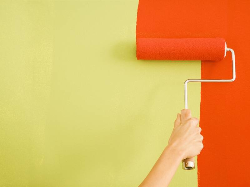 Home Makeover Paint the Walls