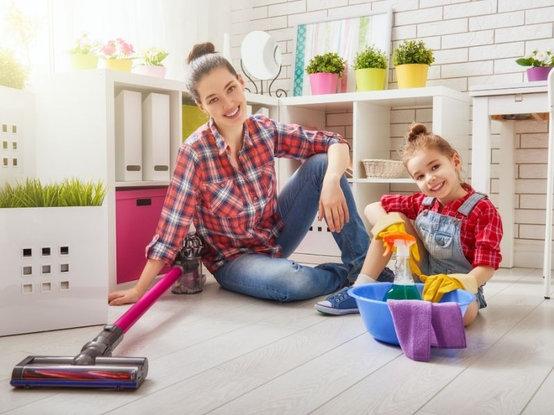 Home Makeover Clearing the Clutter