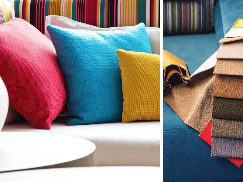 Cushions, Throws, and Upholstery