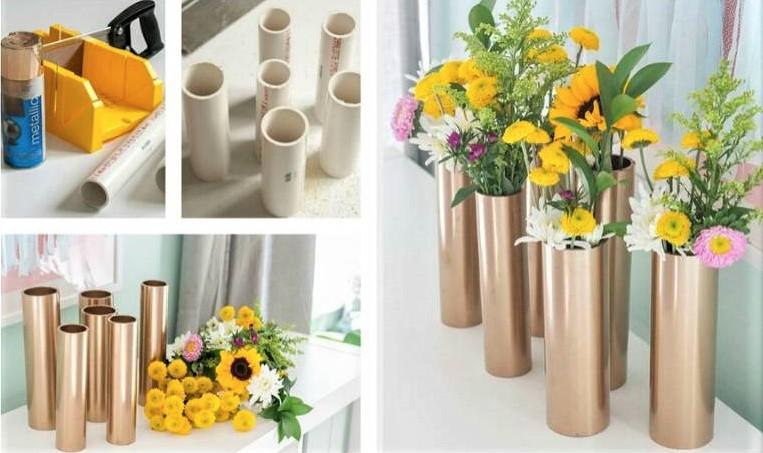 PVC DIY Vase
