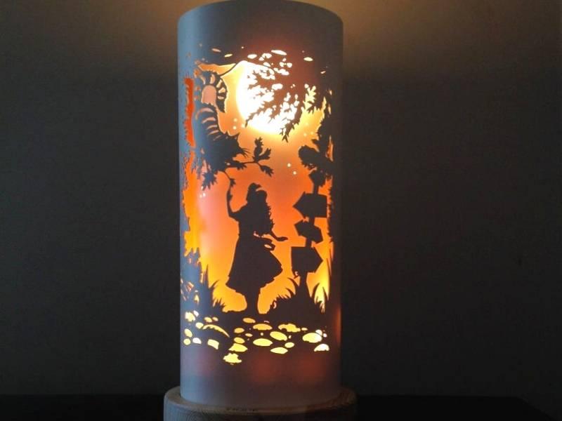 PVC DIY Lamp
