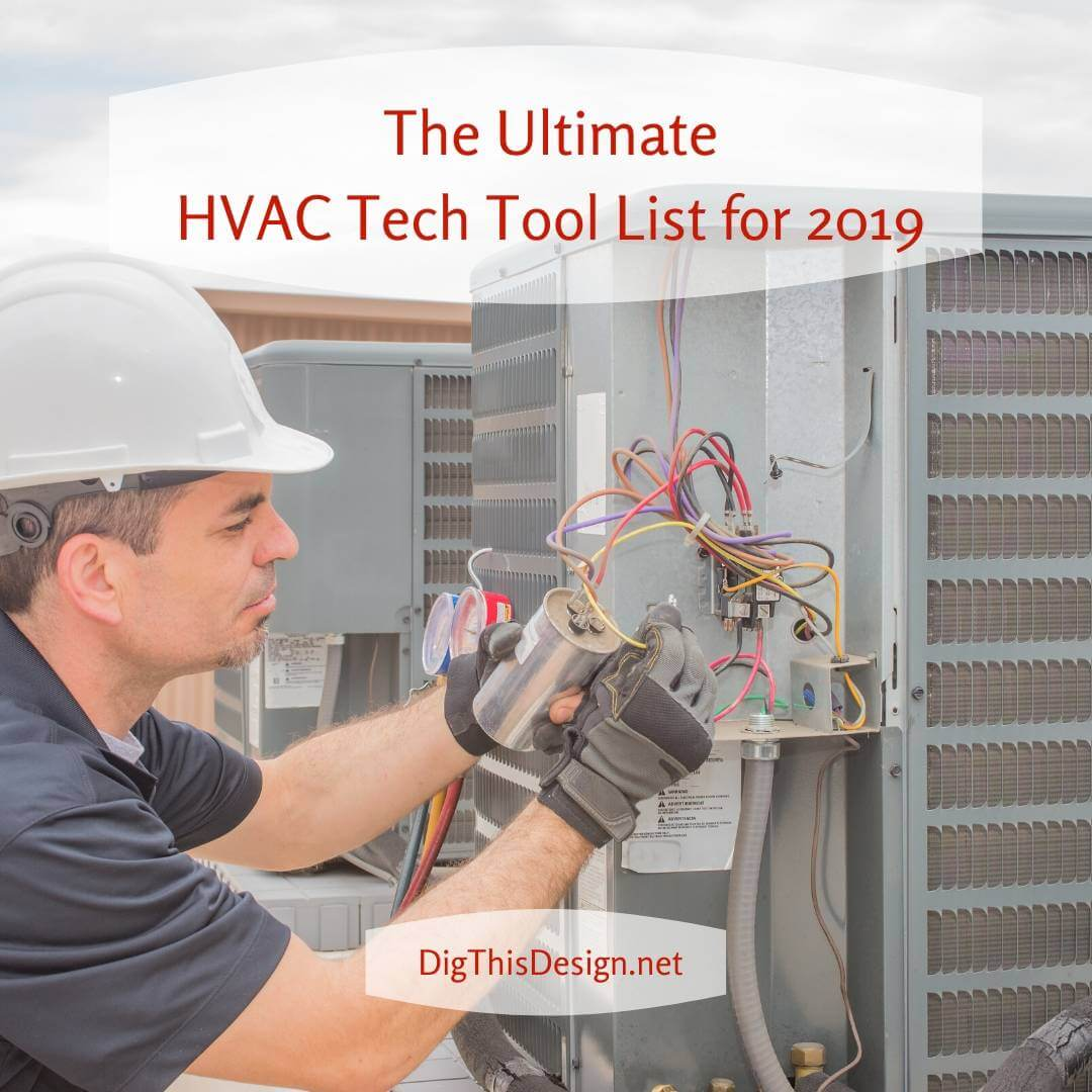 The Ultimate HVAC Tech Tool List for 2019