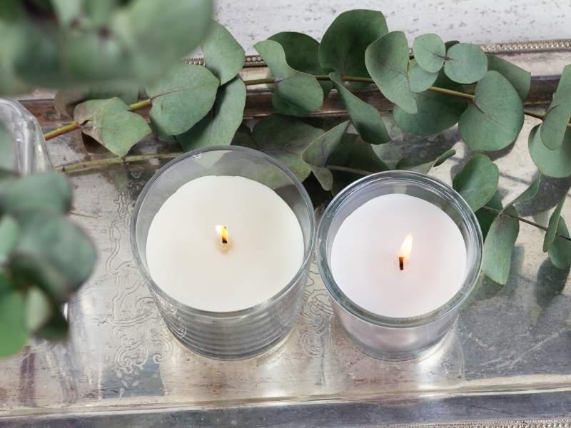 Warm Candles Decor