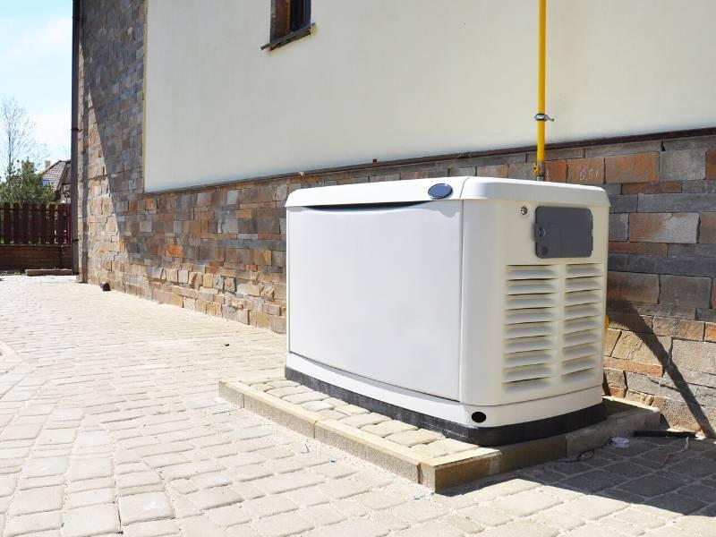 Gas Backup Generator