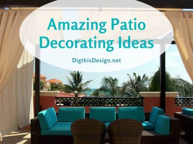 5 Patio Decorating Ideas for a Fabulous Outdoor Living Space