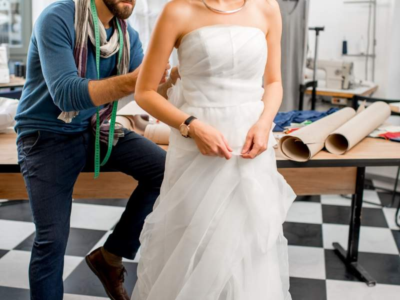 Hire a Tailor to Design Your Dress